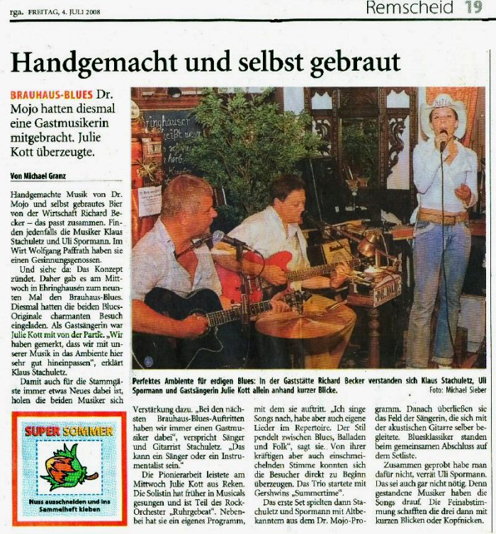 Pressebericht Remscheider Generalanzeiger