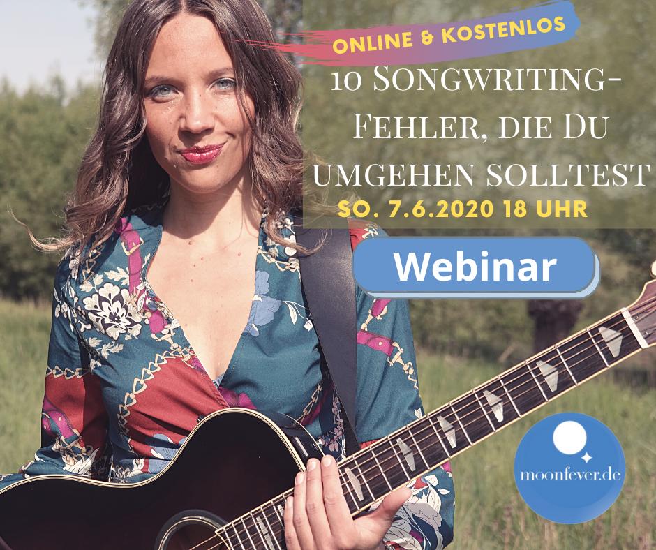 Songwriting Fehler vermeiden Webinar Workshop