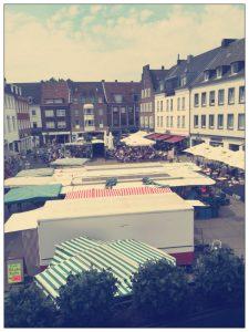 Ausblick altes Rathaus Dorsten