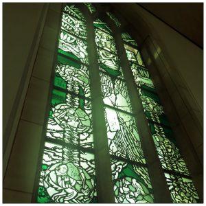 Kirchenfenster Grün