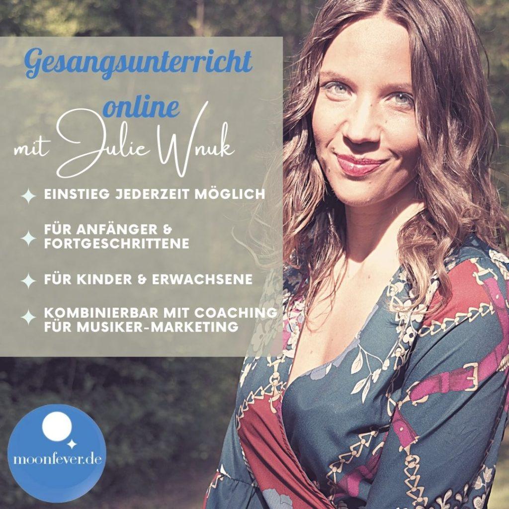 online Gesangsunterricht