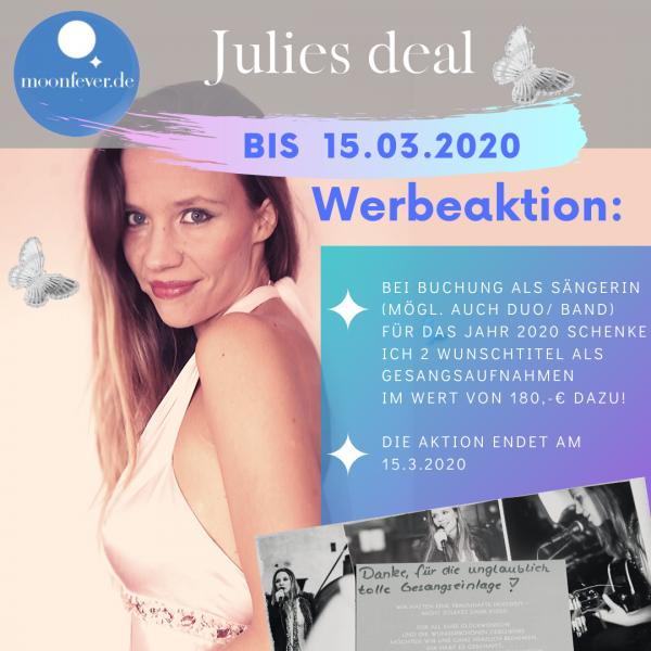 Hochzeitssängerin NRW Angebot