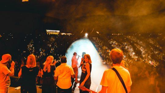 Julie und Rockorchester Ruhrgebeat Amphittheater