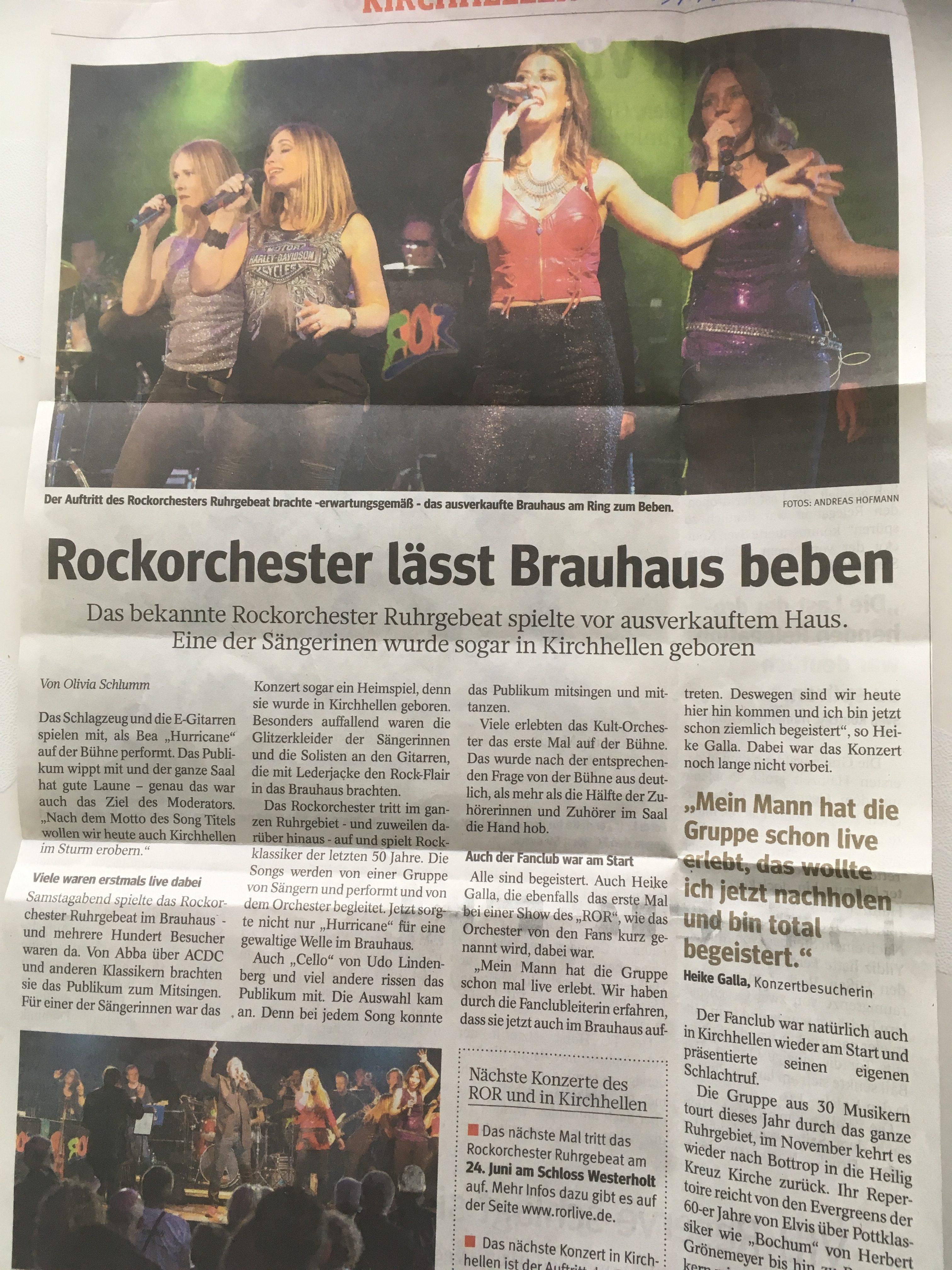 Rockorchester lässt Brauhaus beben