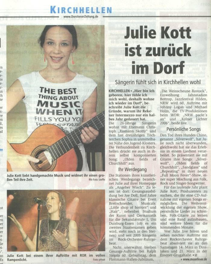 Bericht Ruhrnachrichten Dorsten