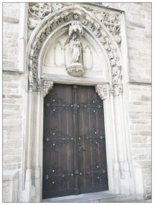 Kirchentür St Phillipus Herdecke Wetter