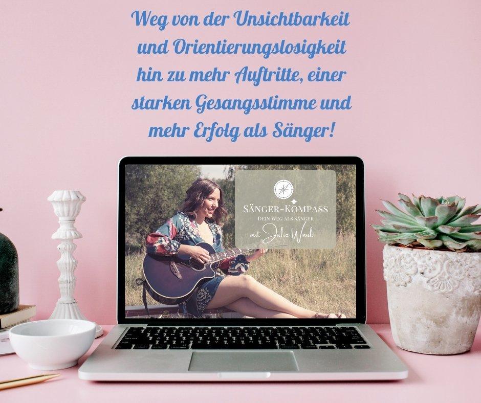 Musiker Werbung Marketing Karriere Sänger