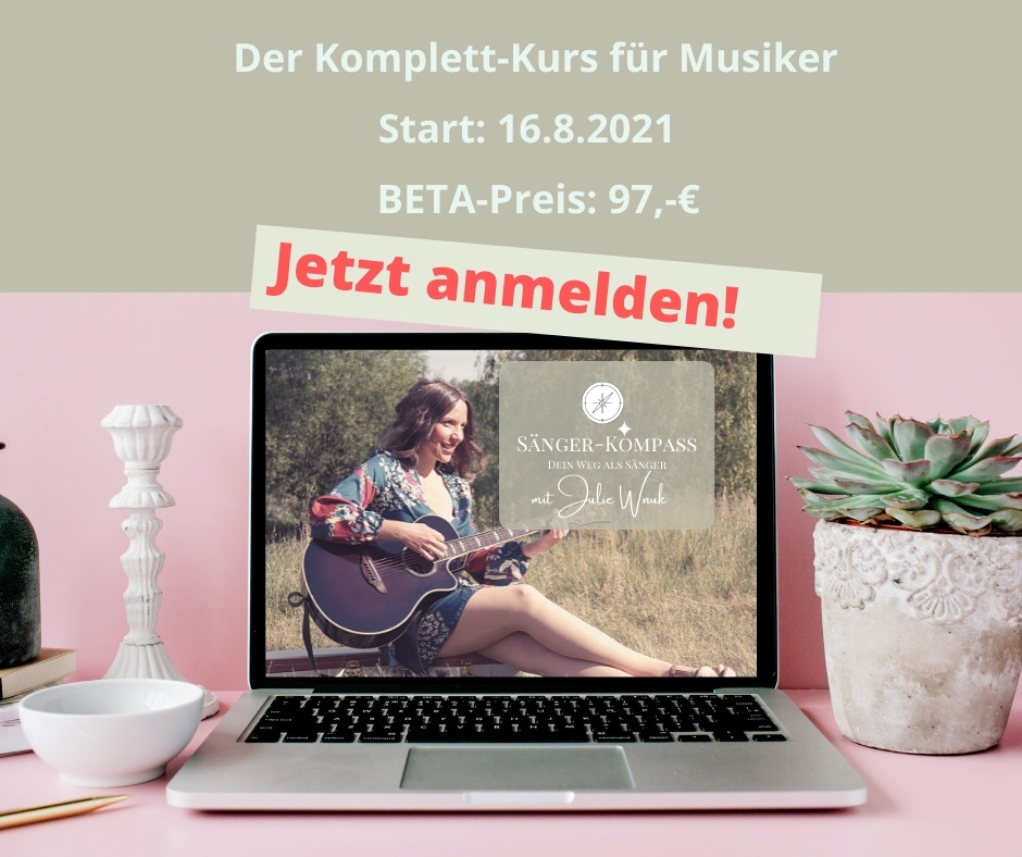 Gesang Musiker Marketing Online Kurs