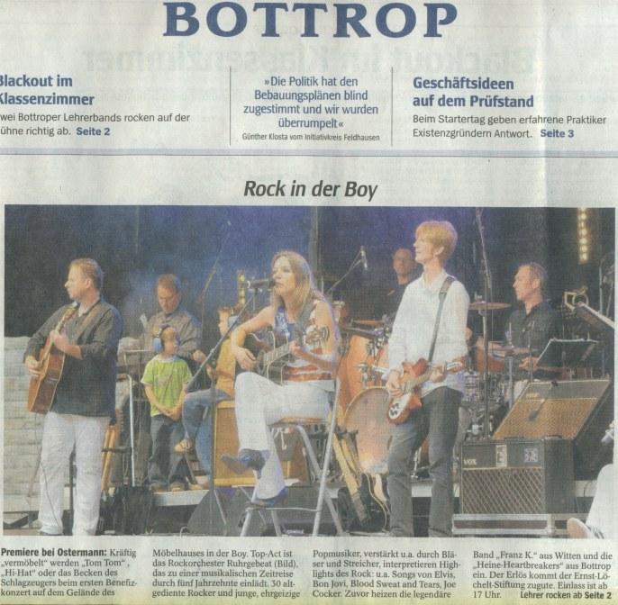 WAZ Bericht Bottrop Boy