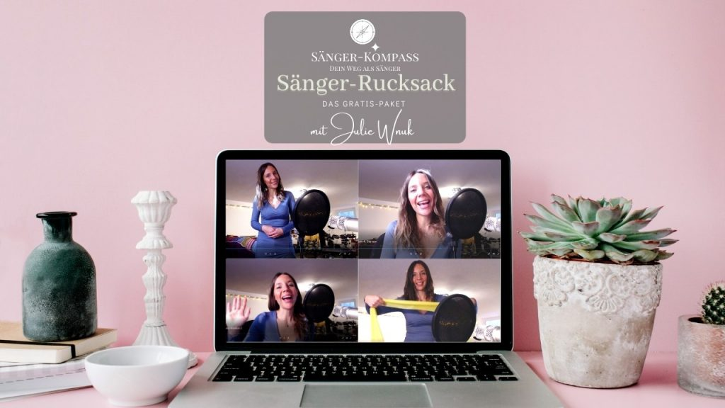 online gesangsunterricht singen lernen