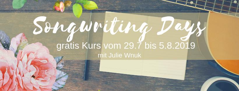 Songs schreiben lernen songwriting kurs